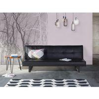 Luksusowa sofa kanapa DERBY czarna, kolor czarny