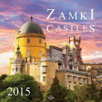 2015 kalendarz ścienny. Zamki - Dostawa zamówienia do jednej ze 170 księgarni Matras za DARMO