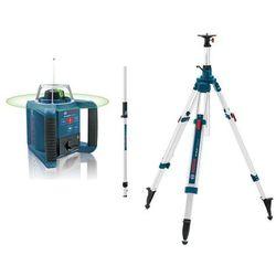 Niwelator laserowy BOSCH GRL 300 HV PEŁNY ZESTAW - RC 1 + BT 300 HD + GR 240 z kategorii Niwelatory