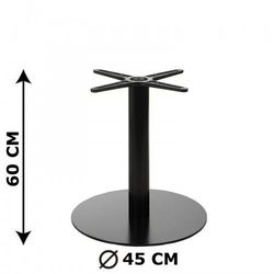 Podstawa stolika e47/60, o wysokości 60 cm (stolik kawowy) marki Stema - od