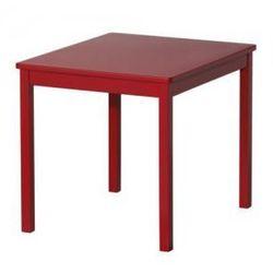 KRITTER Stolik dziecięcy, czerwony - produkt z kategorii- Krzesła i stoliki