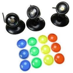 wodoodporna lampa led 3x1w 12v szkiełka kolorowe - darmowa dostawa od 95 zł! marki Aqua nova