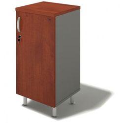 Szafa biurowa bern plus, drzwi prawe, 450 x 430 x 930 mm, brzoza marki B2b partner