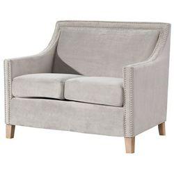 Dekoria Sofa Diana silver grey 2os., 113×77×92cm