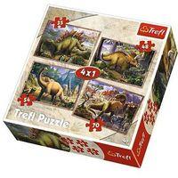 4w1 dinozaury marki Trefl