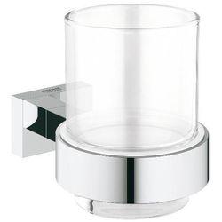 uchwyt ze szklanką essentials cube 40755001 marki Grohe