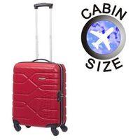 Mała walizka AMERICAN TOURISTER 87A Houston City czerwona - czerwony