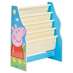 dziecięcy regał na książki, 51 x 23 60 cm, niebieski marki Peppa pig