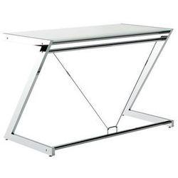 biurko Z-LINE DESK PLUS (120X60 CM) Szkło białe