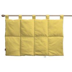 Dekoria  wezgłowie na szelkach, żółty z połyskiem, 90 x 67 cm, milano