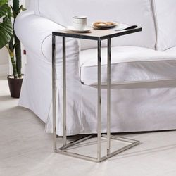 stolik pomocniczy eve wys. 65cm, 40 × 30 × 65 cm marki Dekoria