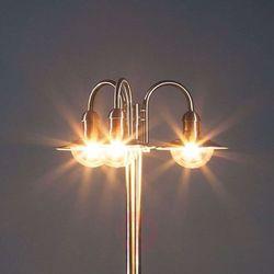 Lampenwelt.com Latarnia damion ze stali szlachetnej, 3-pkt (6291105706735)