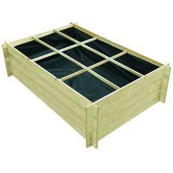 Drewniana donica 150 x 100 x 40 cm