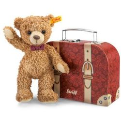 STEIFF Miś Carlo 23cm z kuferkiem - produkt z kategorii- Pojemniki na zabawki