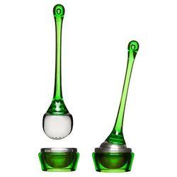 - zaparzaczka do herbaty z podstawką zielona - tea marki Sagaform