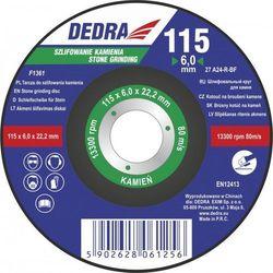 Tarcza do szlifowania kamienia DEDRA F1365 230 x 6.0 x 22.2 wypukła z kategorii Pozostałe narzędzia elektryczne