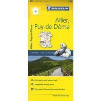 Allier, Puy-de-Dôme, 1:150 000