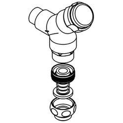 Zawór Z-SIRW001 podłączeniowy DN 15 do montażu ściennego z kategorii pozostałe artykuły hydrauliczne