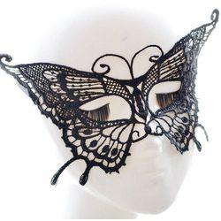 Faux Lace Butterfly Hallowmas Party Mask, kup u jednego z partnerów