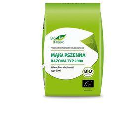 Bio Planet: mąka pszenna razowa typ 2000 BIO - 1 kg z kategorii Mąki