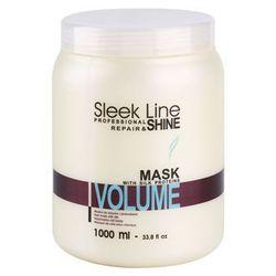 Stapiz Sleek Line Volume maseczka nawilżająca do włosów cienkich i delikatnych (Moisturizes Without Making Heavy. Provides Increase of Density, Softne