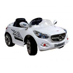 Samochód SLR + radio FM + pilot biały