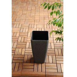 Ogrodowa Donica Plastikowa Wysoka WAZON Mokka S - sprawdź w wybranym sklepie