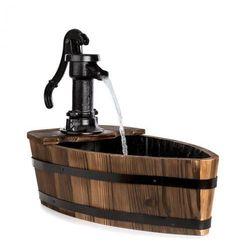 Blumfeldt starnberg fontanna ogrodowa 12w pompa abisynka żeliwo drewno brązowa (4060656151620)