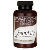 Swanson Fenulife 500mg 120 kaps