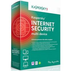 Kaspersky Internet Security 2015 ENG 3 PC/12 Miec ESD (oprogramowanie)