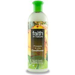 Odżywka do włosów z ananasem i limonką 400ml - Faith In Nature - produkt z kategorii- Odżywianie włosów
