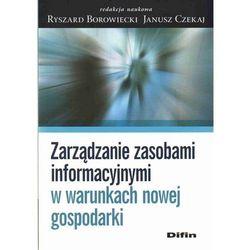 Zarządzanie zasobami informacyjnymi w warunkach nowej gospodarki (ilość stron 386)
