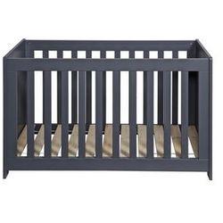 łóżeczko dla dzieci new life ciemnoszare 363406-gbs marki Woood