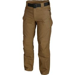 spodnie Helikon UTL mud brown UTP Policotton Ripstop LONG (SP-UTL-PR-60), spodnie męskie HELIKON-TEX