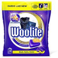 Woolite Kapsułki do prania z keratyną Black 28 szt.