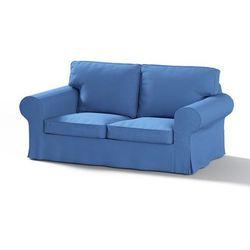 Dekoria Pokrowiec na sofę Ektorp 2-osobową, nierozkładaną, niebiesko-błękitny szenil, Sofa Ektorp 2-osobowa, Living