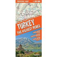 Turkey The Highest Peaks 1:100 000 Trekking Map, praca zbiorowa
