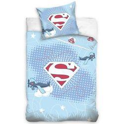 DCarbotex dziecięca pościel do łóżeczka Little Superman, 100 x 135 cm, 40 x 60 cm