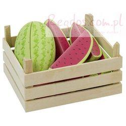 Owoce w skrzynce, arbuzy, 12 elementów. - oferta [b524e70061422748]