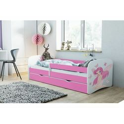 Łóżko dla dziecka, barierka, babydreams, wróżka z motylkami, różowe marki Kocotkids