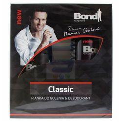 Bond Expert Classic Zestaw Pianka do golenia + Dezodorant w sprayu z kategorii zestawy do golenia