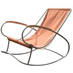 Krzesło bujane, denim Roko
