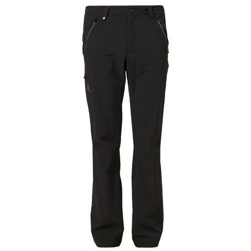 Salomon WAYFARER Spodnie materiałowe black - oferta [4593de44f34f637f]