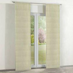 Dekoria zasłony panelowe 2 szt., oliwkowo-białe paski, 60 x 260 cm, wyprzedaż do -30%