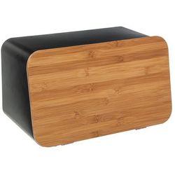 Nowoczesny chlebak z klapą, pojemnik na chleb z pokrywą, 2 w 1 marki 5five simple smart