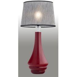 Lampa nocna 1X60W E27 AMAZONKA Czerwony/Czarny 3028 ARGON (5908259944142)