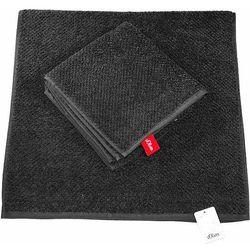 Ręcznik czarny 140x70 cm gładki marki S.oliver