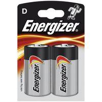 Energizer 2 x bateria alkaliczna  power seal lr20/d (blister)