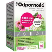 ProOdporność 30 sasz. Witamina C 1000 mg + Rutyna 30 saszetek Propharma (5906874250099)