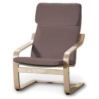 Dekoria  poduszka na fotel poäng, brązowo z odcieniem fioletu, fotel poäng, living